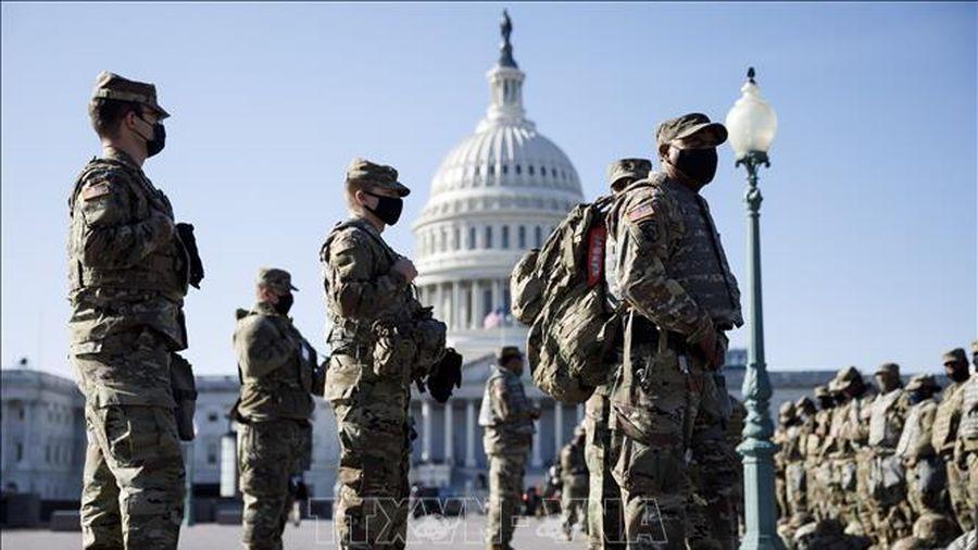 FBI sàng lọc binh sĩ Vệ binh quốc gia trước thềm lễ nhậm chức của Tổng thống Mỹ