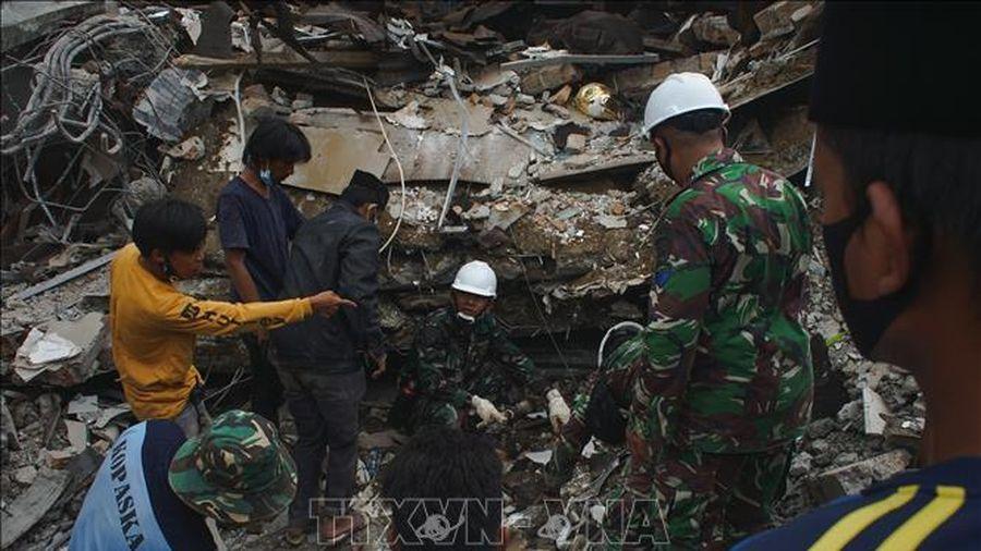 Động đất độ lớn 4,2 tiếp tục rung chuyển huyện Majene, Indonesia