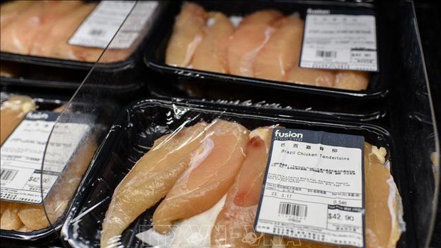 Hong Kong tạm dừng nhập khẩu thịt gia cầm từ Anh, Đức và Hàn Quốc