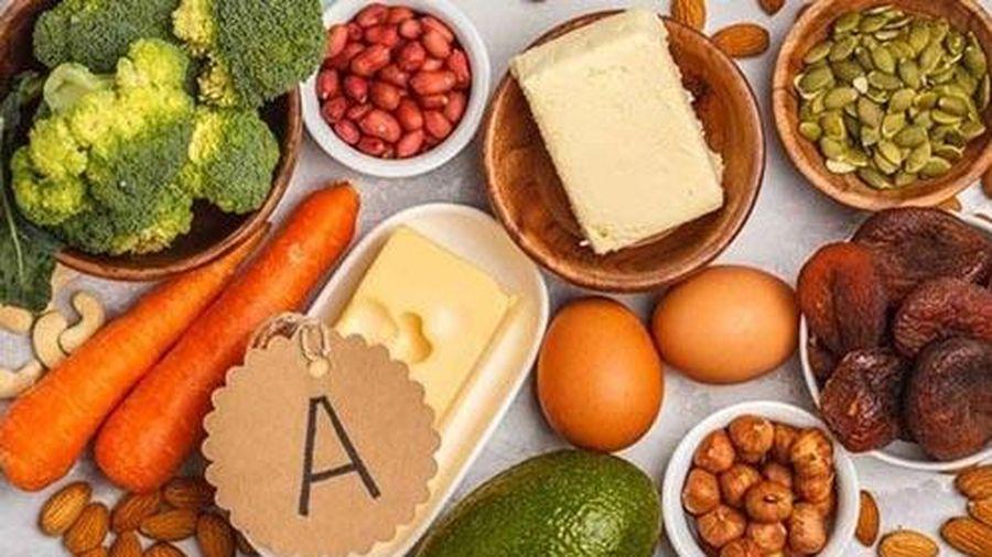 Tăng vitamin A trong chế độ ăn thì với giảm cân nhanh