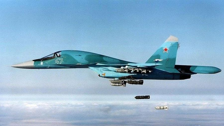 Không quân Nga mở hàng chục cuộc không kích vào miền Trung Syria
