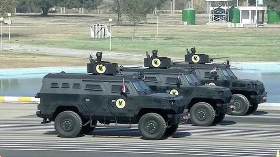 Iraq duyệt binh với xe bọc thép mới nhất do Hàn Quốc sản xuất