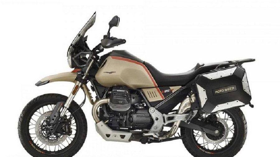 Môtô cổ điển Moto Guzzi V85 TT 2021 nhận được loạt nâng cấp mới