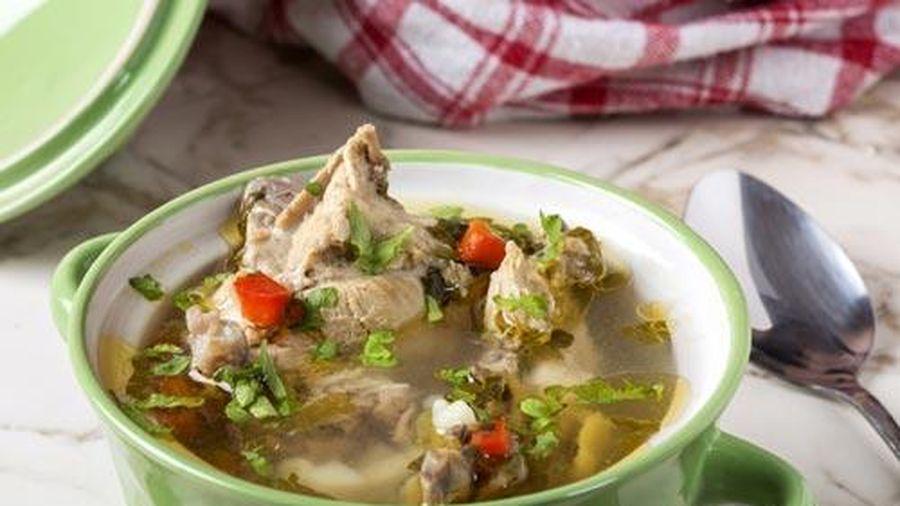 Canh gà nấu gừng, ấm lòng ngày đông