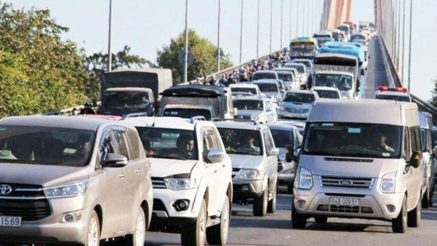 Cấm xe tải 3 trục trở lên qua cầu Rạch Miễu dịp Tết Nguyên đán