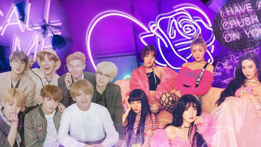 Không hẹn mà gặp, BTS và Red Velvet cùng 'rinh' về thành tích Youtube mới