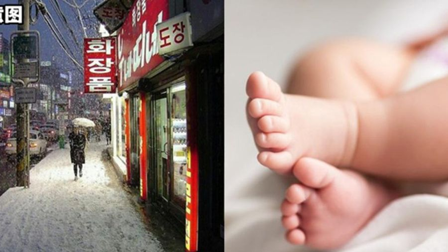 Vừa sinh con trong nhà vệ sinh, cô gái trẻ ném đứa bé ra ngoài trời lạnh 0 độ