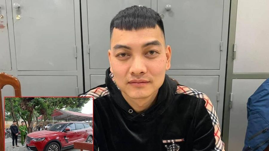 Hồ Văn Khoa - người nổ súng vào xe ô tô của 'thánh chửi' Dương Minh Tuyền đã ra công an đầu thú