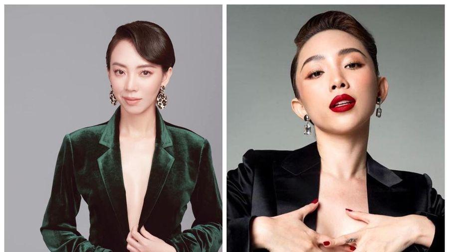 Tóc Tiên rủ Thu Trang cùng làm phim vì bị nhận nhầm là chị em sinh đôi