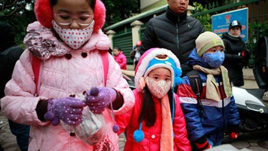 Hà Nội: Trường học không tổ chức hoạt động ngoài trời trong ngày rét đậm, rét hại