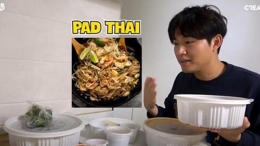 Gọi món Việt ở Hàn Quốc, Woossi lắc đầu chê lên chê xuống