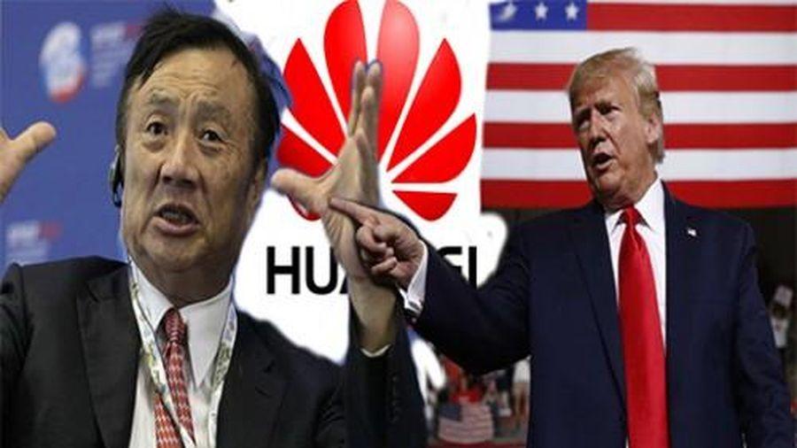 Sắp rời nhiệm sở ông Trump vẫn giáng cho Huawei 'cái tát đau'
