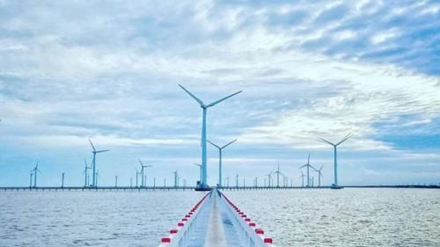 Cà Mau khởi công nhà máy điện gió với tổng mức đầu tư hơn 10.000 tỷ đồng