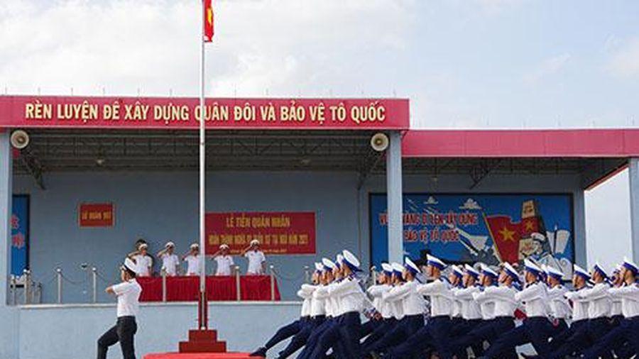 Lữ đoàn 957, Vùng 4 Hải quân: Tổ chức xuất ngũ cho 664 hạ sĩ quan, binh sĩ hoàn thành nghĩa vụ quân sự