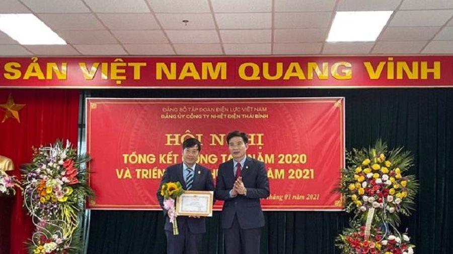 Đảng ủy Công ty Nhiệt điện Thái Bình trong sạch, vững mạnh