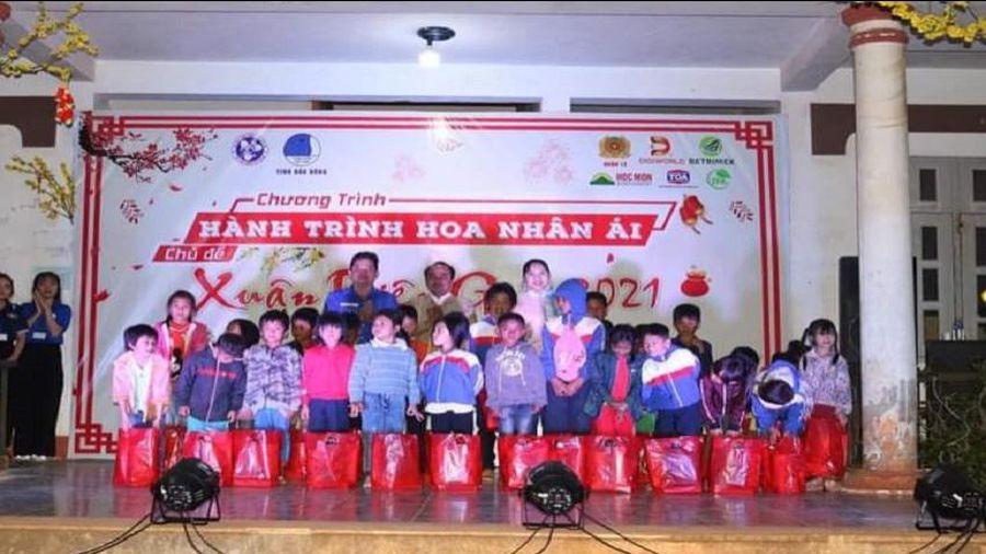 Đắk Nông: Tổ chức chương trình hành trình Hoa nhân ái