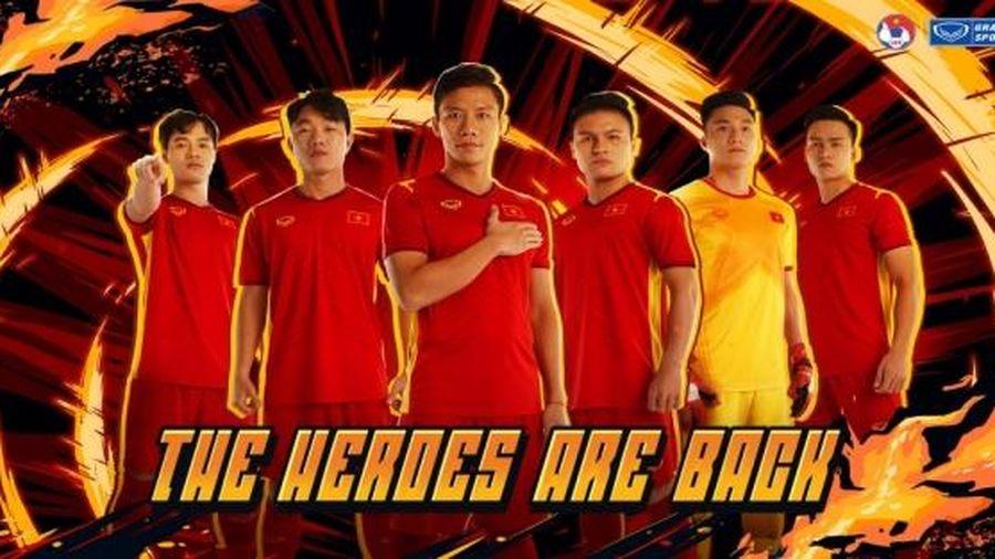 Lộ diện mẫu áo đấu mới của ĐT Việt Nam trong năm 2021