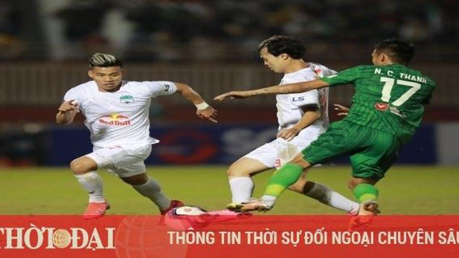 Lịch thi đấu vòng 2 V-League 2021: Tâm điểm HAGL vs SLNA