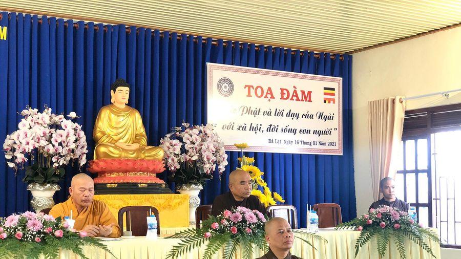 Lâm Đồng: Tọa đàm nhân ngày Phật Thành đạo