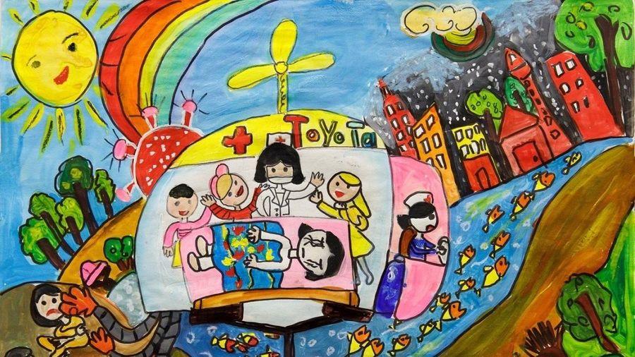 160 tác phẩm xuất sắc đạt giải cuộc thi Vẽ tranh Quốc tế 'Chiếc ô tô mơ ước' lần thứ 10