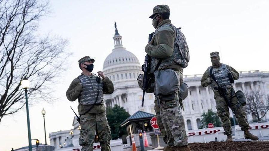 Washington DC hóa pháo đài quân sự trước ngày Biden nhậm chức