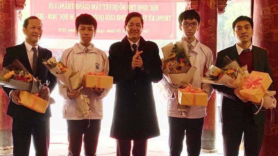 2.278 thí sinh đạt giải trong kỳ thi chọn học sinh giỏi quốc gia