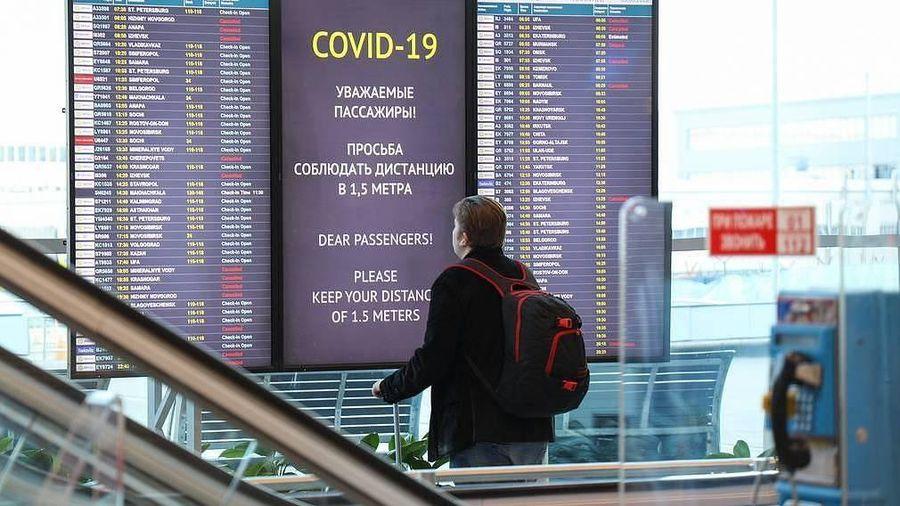 Lưu lượng hành khách hàng không Nga sụt giảm mạnh