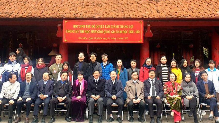 Hà Nội tiếp tục dẫn đầu về số học sinh giỏi quốc gia
