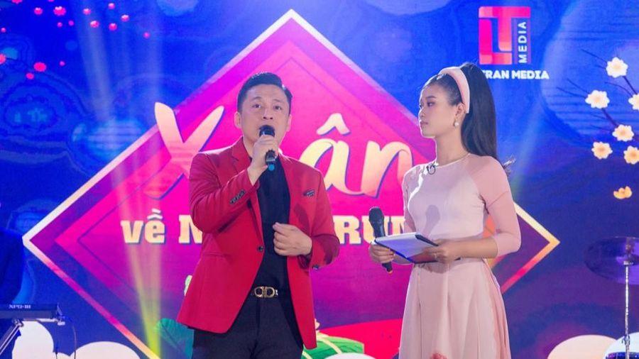 Lam Trường hội ngộ cháu gái Tiêu Châu Như Quỳnh trong đêm nhạc hướng về miền Trung