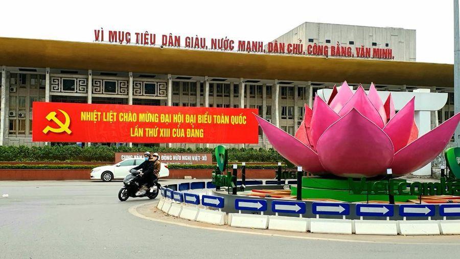 Hà Nội sẵn sàng cho khai mạc Đại hội XIII của Đảng