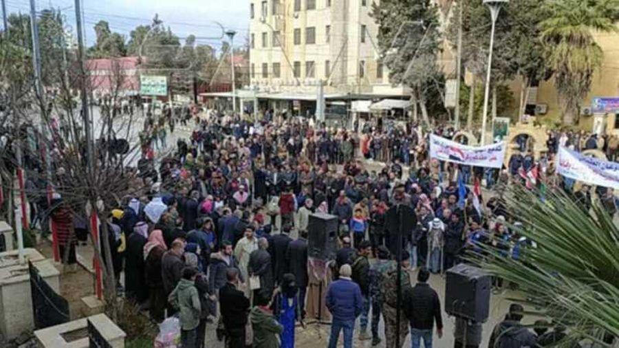 Syria: Biểu tình lớn ở Al-Hasakah sau khi các lực lượng thân Thổ ngừng cấp nước