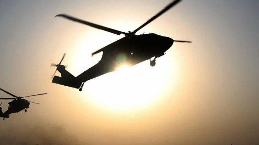 Trực thăng Mỹ gặp sự cố ở Đông Bắc Syria