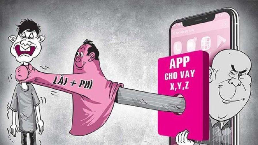 Bộ Công an: Mạnh tay xử lý tín dụng đen cho vay qua app