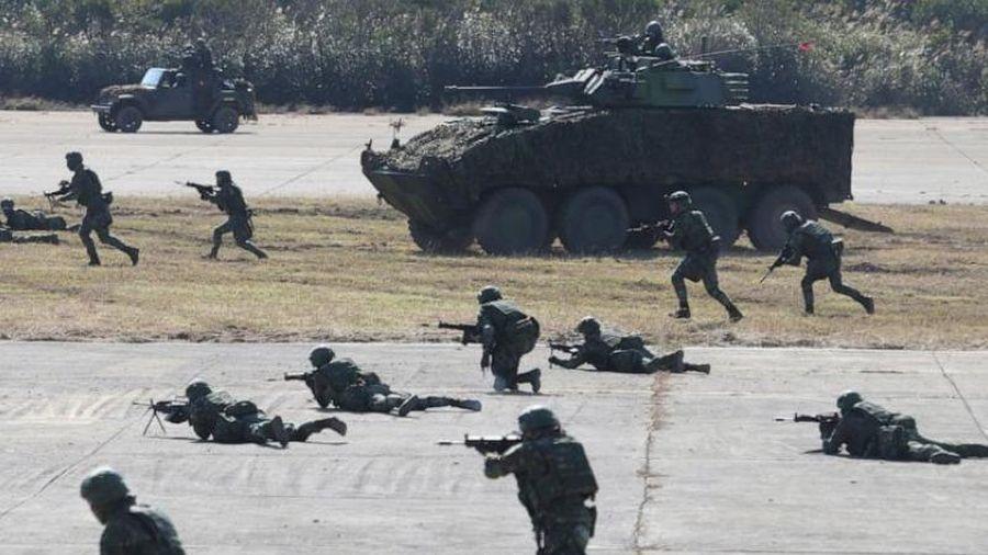 Đài Loan tổ chức tập trận 'đẩy lùi cuộc tấn công từ Bắc Kinh'