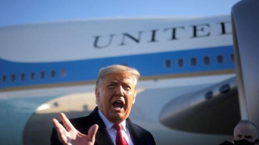 Ông Trump ra sắc lệnh về máy bay không người lái Trung Quốc