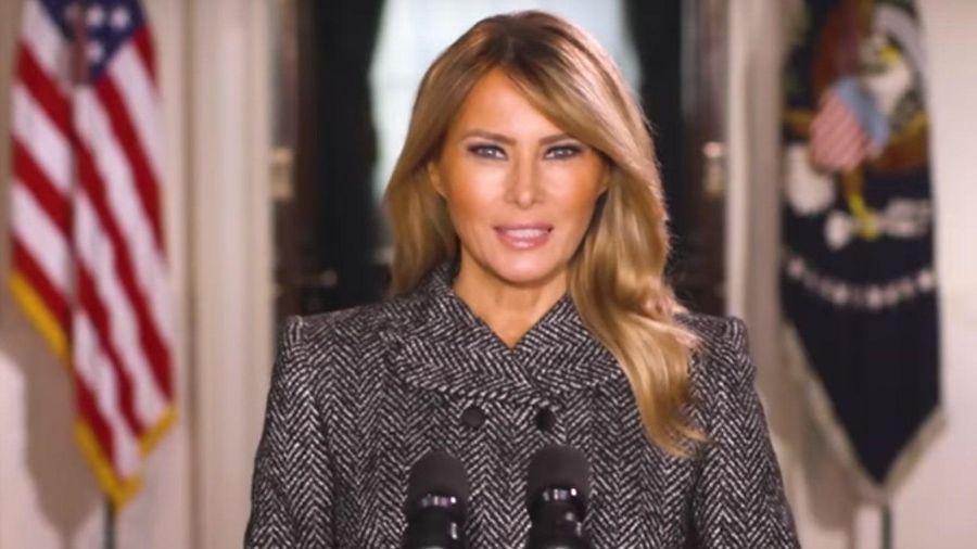 Bà Melania Trump chia tay người dân Mỹ