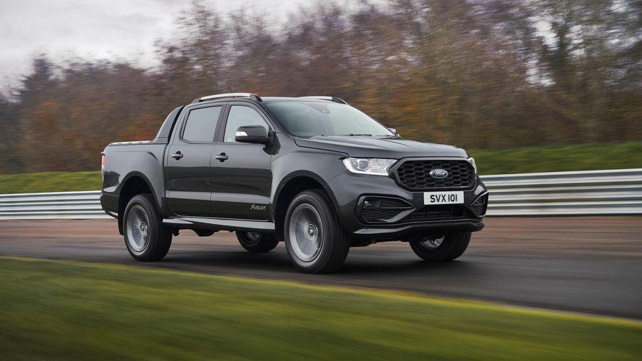 Ford Ranger 2021 có thêm bản thể thao MS-RT