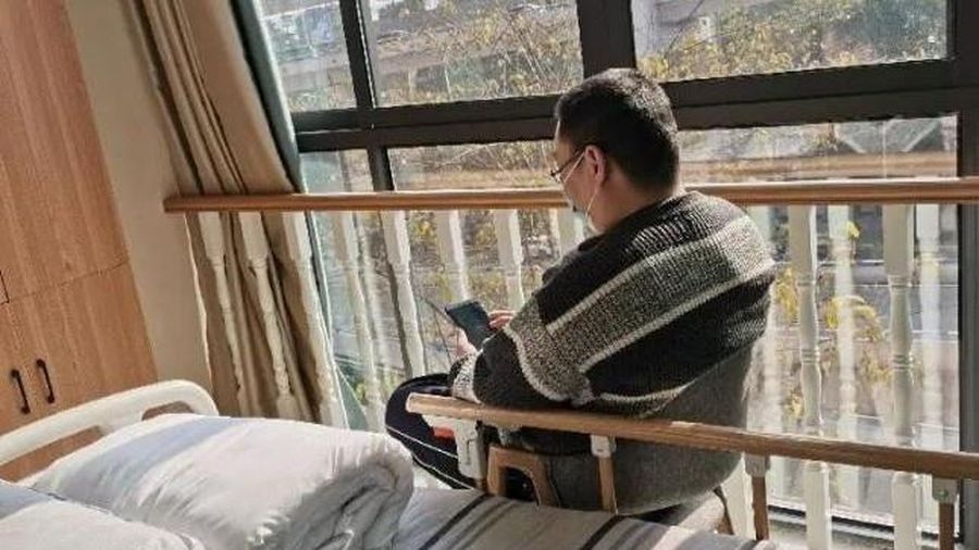 Người đàn ông 39 tuổi ở Trung Quốc vào viện dưỡng lão đã về nhà