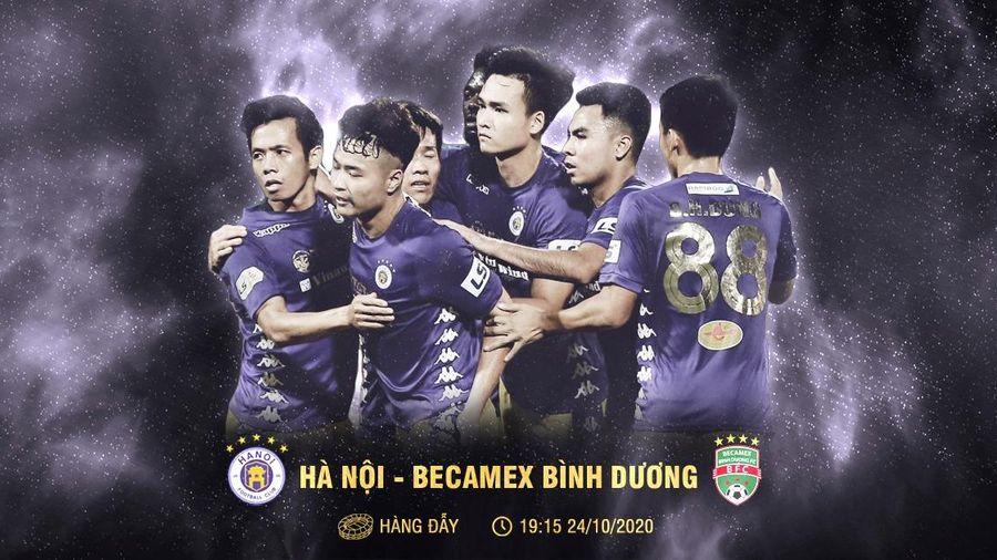 Hà Nội FC-Bình Dương: Cơ hội cho HLV Chu Đình Nghiêm