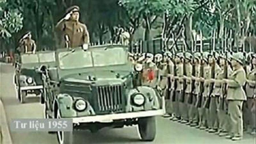 Chiếc xe GAZ69 gửi tặng gia đình Đại tướng Võ Nguyên Giáp