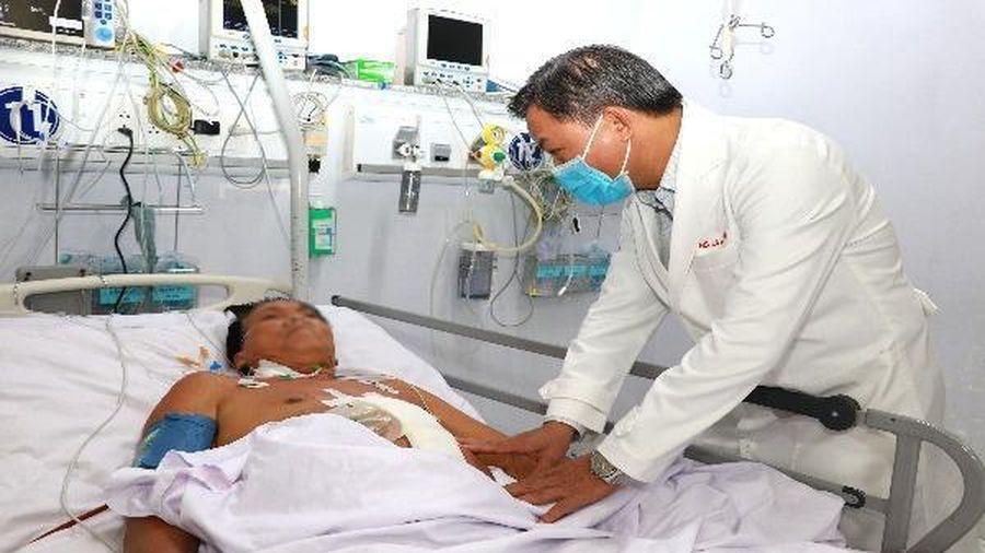 BVĐK TP Cần Thơ: Cứu sống bệnh nhân bị tai nạn giao thông nguy kịch