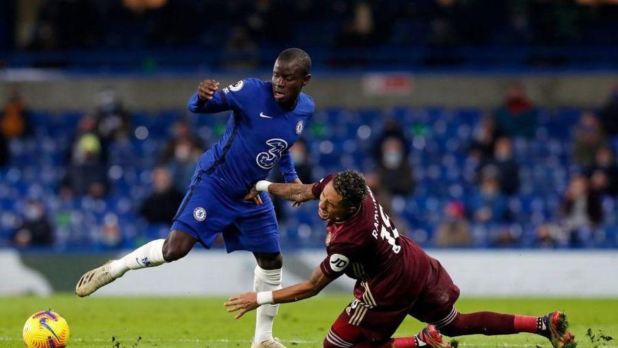 Chelsea mất 'máy quét' Kante khi đấu Leicester