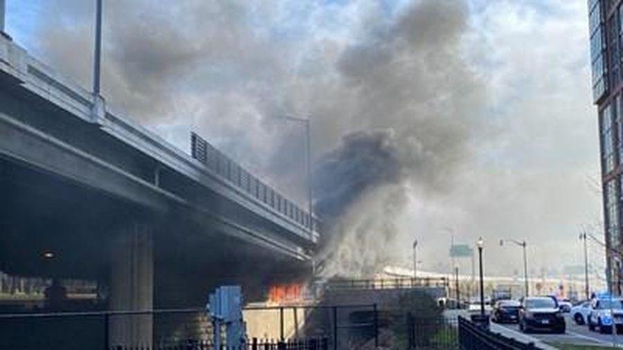Hỏa hoạn gần Điện Capitol ngay trước ngày diễn ra lễ nhậm chức tổng thống Mỹ đắc cử