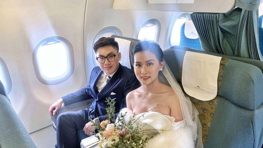 Đám cưới 'thế kỷ' trên độ cao 10.000 mét