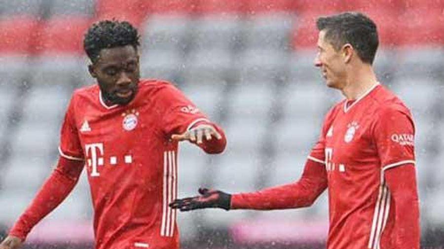 Bayern vô địch lượt đi chưa thuyết phục