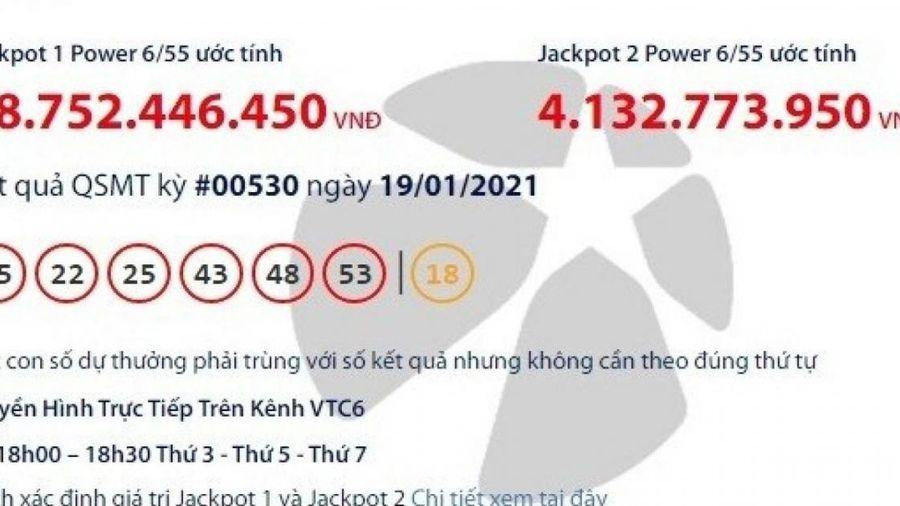 Xổ số Vietlott 19/1/2021: Tìm người may mắn trúng giải khủng gần 39 tỷ