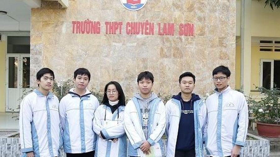 Thanh Hóa xếp thứ 5 toàn quốc về giải Nhất kỳ thi học sinh giỏi Quốc gia