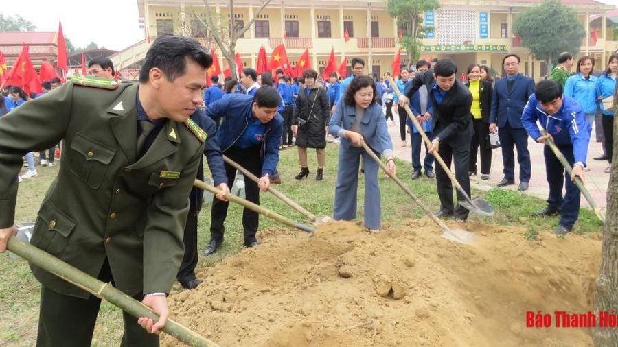 Tổ chức thực hiện 'Tết trồng cây đời đời nhớ ơn Bác Hồ' Xuân 2021