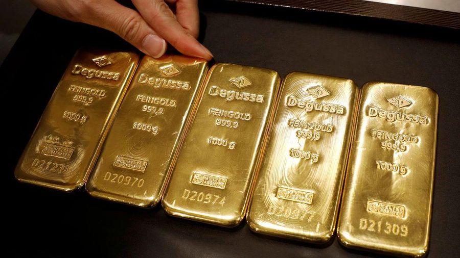 Vàng miếng tăng giá nhẹ, USD tự do vượt 23.500 đồng