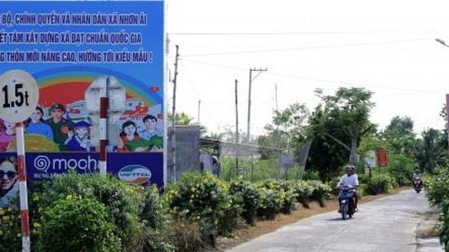 Thống nhất đề nghị công nhận xã Mỹ Khánh, Nhơn Ái đạt chuẩn nông thôn mới nâng cao
